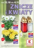 Znicze i kwiaty