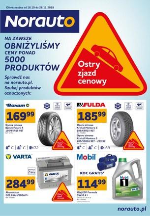 Gazetka promocyjna Norauto, ważna od 18.10.2018 do 28.11.2018.