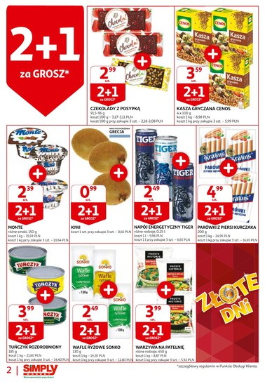 Gazetka promocyjna Simply Market, ważna od 18.10.2018 do 24.10.2018.