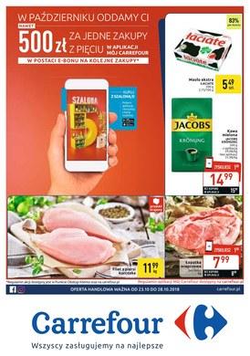 Gazetka promocyjna Carrefour - Gazetka promocyjna - ważna od 23-10-2018