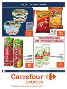 Gazetka promocyjna Carrefour Express, ważna od 23.10.2018 do 29.10.2018.