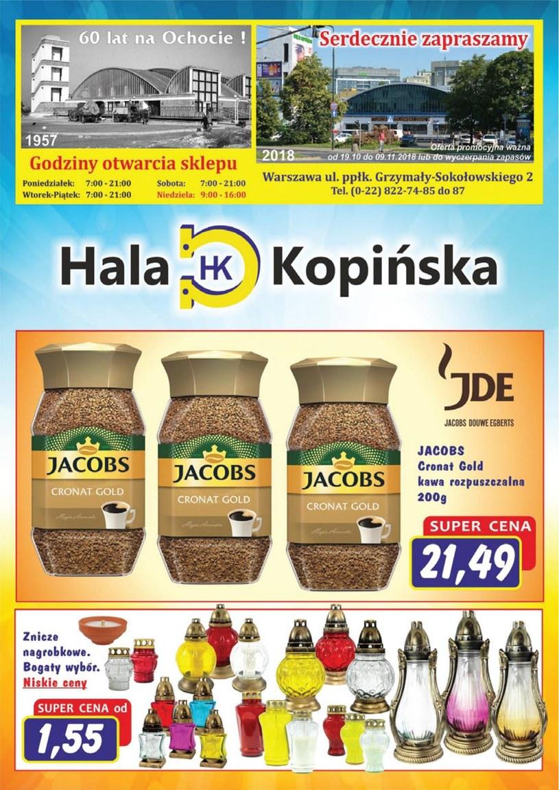 Gazetka promocyjna Hala Kopińska - wygasła 221 dni temu