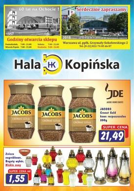Gazetka promocyjna Hala Kopińska - Gazetka promocyjna