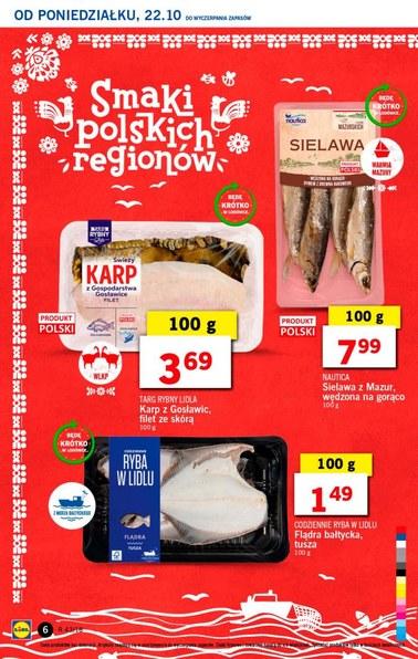 Gazetka promocyjna Lidl, ważna od 22.10.2018 do 24.10.2018.