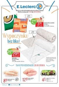 Gazetka promocyjna E.Leclerc, ważna od 23.10.2018 do 28.10.2018.