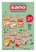 Gazetka promocyjna Sano - Gazetka miesiąca - ważna do 15-11-2018