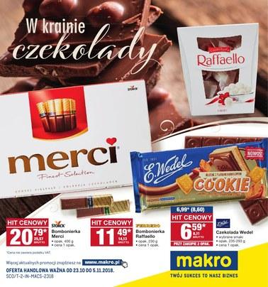 Gazetka promocyjna Makro Cash&Carry, ważna od 23.10.2018 do 05.11.2018.