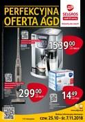 Gazetka promocyjna Selgros Cash&Carry - Perfekcyjna oferta AGD - ważna do 07-11-2018