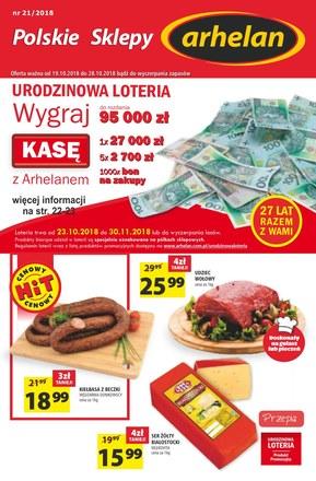 Gazetka promocyjna Arhelan, ważna od 19.10.2018 do 28.10.2018.