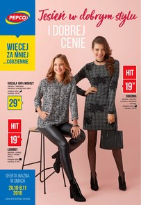 Gazetka promocyjna Pepco, ważna od 26.10.2018 do 08.11.2018.