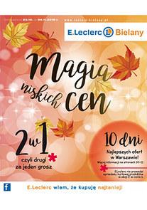 Gazetka promocyjna E.Leclerc, ważna od 23.10.2018 do 04.11.2018.