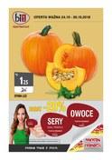 Gazetka promocyjna bi1 - Zdrowo tanio z pasją - ważna do 30-10-2018
