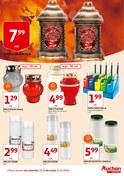 Gazetka promocyjna Auchan - Znicze - ważna do 31-10-2018
