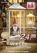 Gazetka promocyjna KIK - Więcej Bożego Narodzenia  - ważna do 14-11-2018