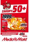 Gazetka promocyjna Media Markt - Zakupy 50+ - ważna do 31-10-2018