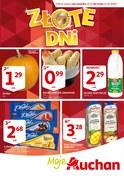 Gazetka promocyjna Auchan - Złote dni - ważna do 31-10-2018