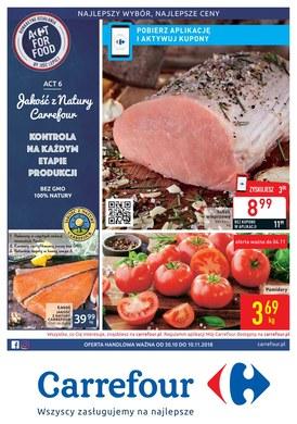 Gazetka promocyjna Carrefour - Act for food