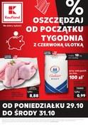 Gazetka promocyjna Kaufland - Oszczędzaj od początku tygodnia - ważna do 31-10-2018