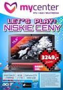 Gazetka promocyjna MyCenter - Let's play: niskie ceny - ważna do 15-11-2018