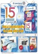 Gazetka promocyjna E.Leclerc - 15 urodziny - Kłodzko - ważna do 10-11-2018