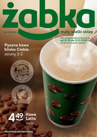 Gazetka promocyjna Żabka, ważna od 31.10.2018 do 13.11.2018.
