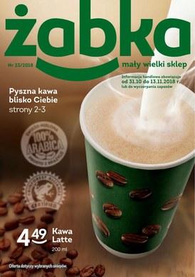 Gazetka promocyjna Żabka - Pyszna kawa blisko Ciebie