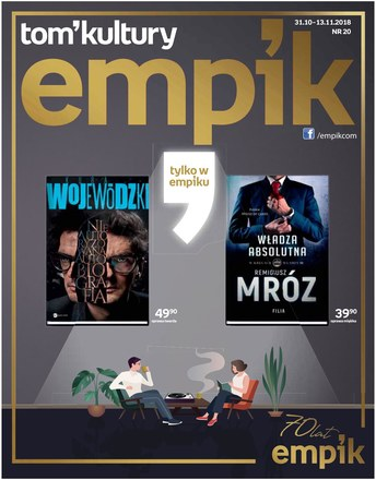 Gazetka promocyjna EMPiK, ważna od 31.10.2018 do 13.11.2018.