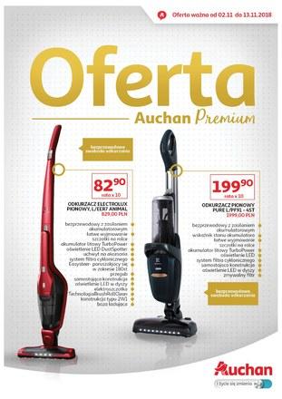 Gazetka promocyjna Auchan, ważna od 02.11.2018 do 13.11.2018.