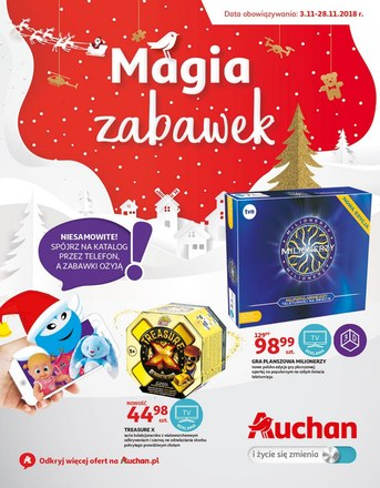 Gazetka promocyjna Auchan, ważna od 03.11.2018 do 28.11.2018.