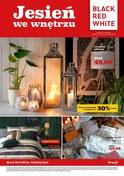 Gazetka promocyjna Black Red White - Jesień we wnętrzu - ważna do 04-12-2018