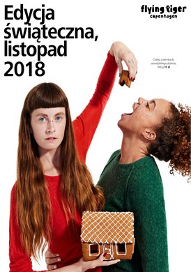Gazetka promocyjna Flying Tiger Polska - Edycja świąteczna, listopad 2018