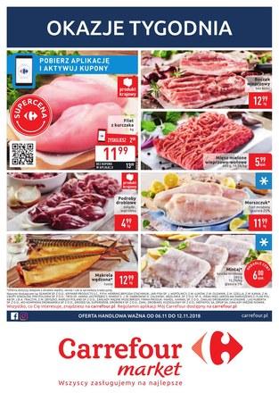 Gazetka promocyjna Carrefour Market, ważna od 06.11.2018 do 12.11.2018.