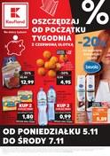 Gazetka promocyjna Kaufland - Oszczędzaj od początku tygodnia - ważna do 07-11-2018