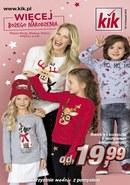 Gazetka promocyjna KIK - Więcej Bożego Narodzenia