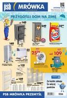 Gazetka promocyjna PSB Mrówka - Przygotuj dom na zimę - Przemyśl