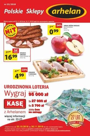 Gazetka promocyjna Arhelan, ważna od 02.11.2018 do 10.11.2018.