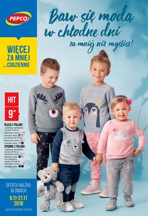 Gazetka promocyjna Pepco, ważna od 09.11.2018 do 21.11.2018.