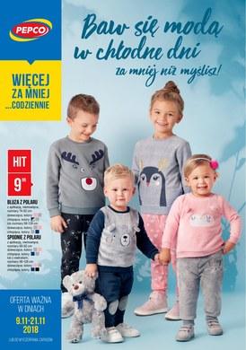 Gazetka promocyjna Pepco - Baw się modą w chłodne dni