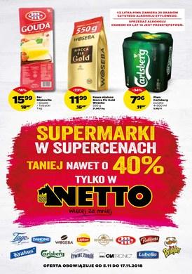 Gazetka promocyjna Netto - Supermarki w supercenach