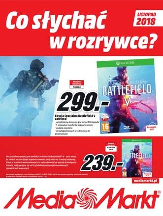 Gazetka promocyjna Media Markt, ważna od 01.11.2018 do 30.11.2018.