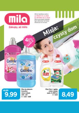 Gazetka promocyjna MILA, ważna od 07.11.2018 do 20.11.2018.