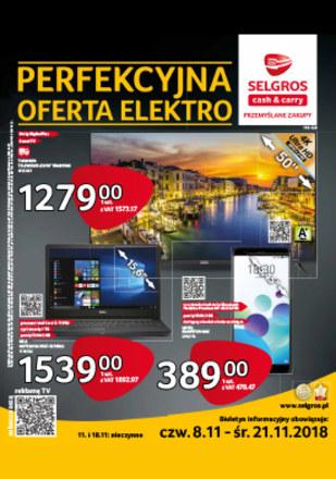 Gazetka promocyjna Selgros Cash&Carry, ważna od 08.11.2018 do 21.11.2018.