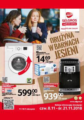 Gazetka promocyjna Selgros Cash&Carry - Drużyna w barwach jesieni