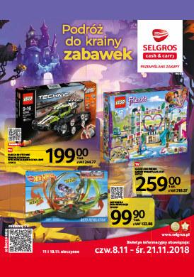 Gazetka promocyjna Selgros Cash&Carry - Podróż do krainy zabawek