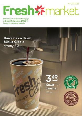 Gazetka promocyjna Freshmarket, ważna od 31.10.2018 do 13.11.2018.