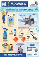 Gazetka promocyjna PSB Mrówka - Przygotuj dom na zimę - Ryki