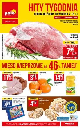 Gazetka promocyjna POLOmarket, ważna od 07.11.2018 do 13.11.2018.