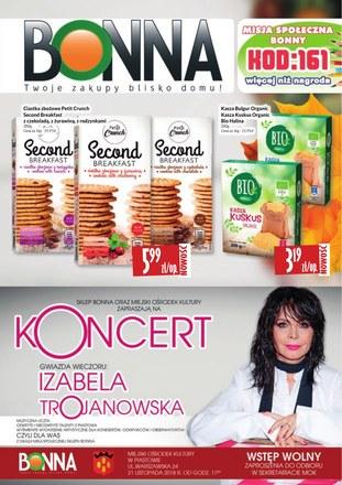 Gazetka promocyjna Bonna, ważna od 01.11.2018 do 30.11.2018.