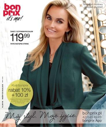Gazetka promocyjna BonPrix, ważna od 06.11.2018 do 06.05.2019.
