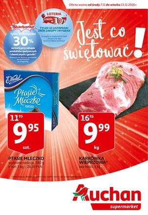 Gazetka promocyjna Auchan, ważna od 07.11.2018 do 13.11.2018.